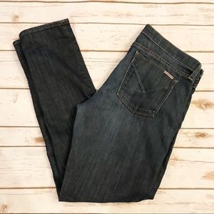 Hudson straight leg jeans! great condition!